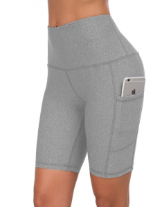 Custer's Night High Waist Out Pocket Yoga Short