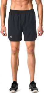 Naviskin Men's 5 inch Quick Dry Running Shorts