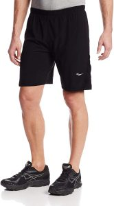 Saucony Men's interval running shorts