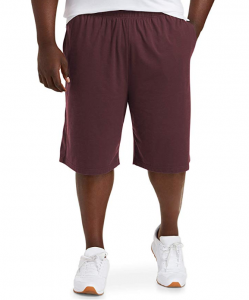 Amazon Essentials Men's Big & Tall Performance Cotton Short fit by DXL