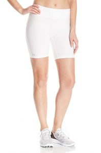 Under Armour Women's Heat Gear Authentic Long Shorts