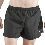 BOA Mens 3.75 V-Notch Running Short
