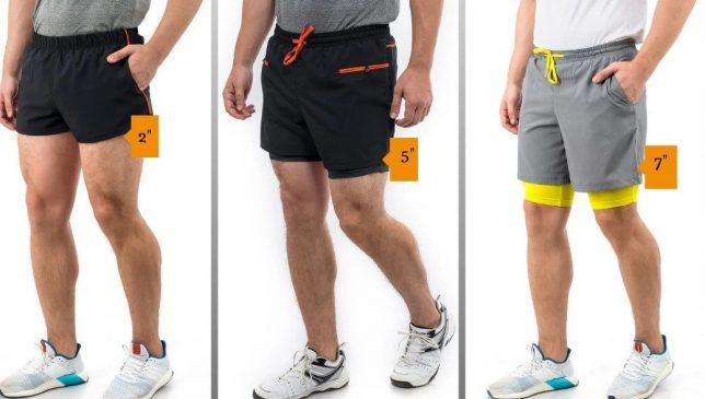 runningshort inseam lengths