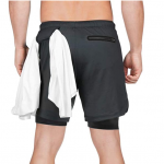 MECH-ENG Men's 2 in 1 Shorts