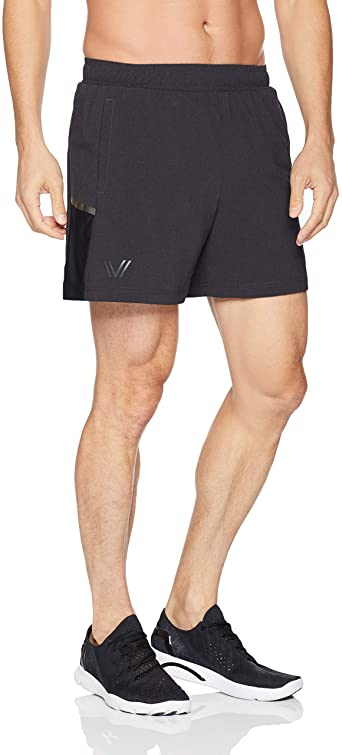 Amazon Brand - Peak Velocity Men's Build Your Brief Liner Run Short (Multiple Inseams)