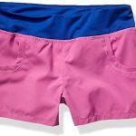 Soffe Girls' Big 4-Way Stretch Pocket Short