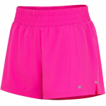 Layer 8 Women's Knit and Woven Quick Dry Workout Shorts